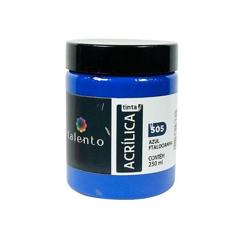 Tinta P/Tela 505 - Azul Ftalocianina