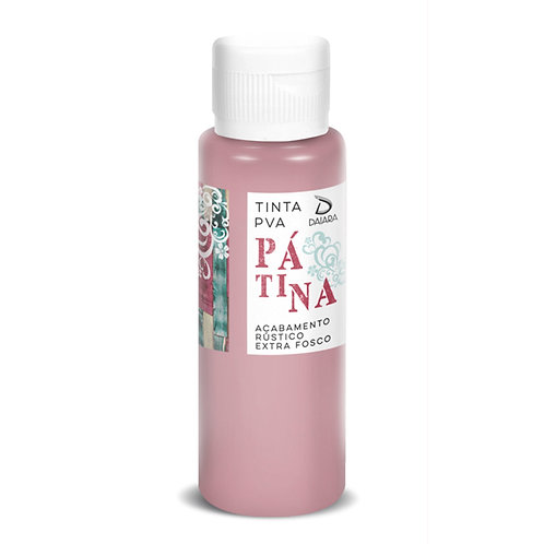 Tinta PVA Pátina 100ml - 836 Rosa Cerejeira