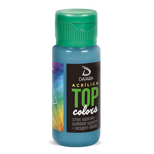 Tinta Acrílica Top Colors 60ml - 63 Azul Danúbio