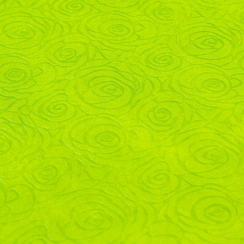Papel Velutto - Rosas Verde