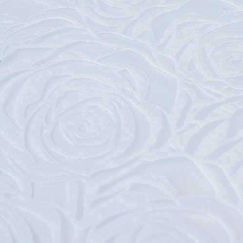 Papel Velutto - Rosas G Branco