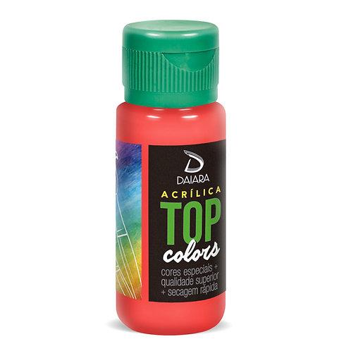 Tinta Acrílica Top Colors 60ml - 28 Morango