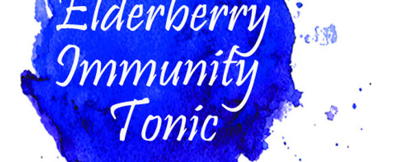 Elderberry Immunity Tonic
