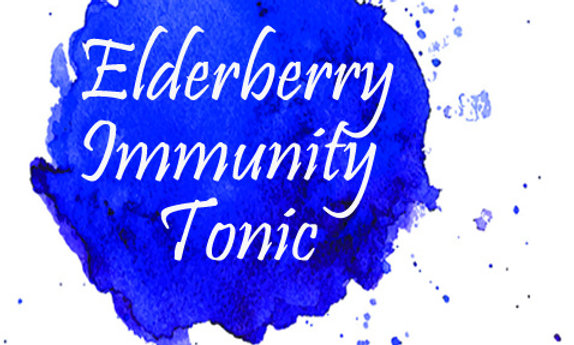 Elderberry Immunity Tonic