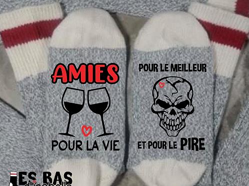 AMIES POUR LA VIE POUR LE MEILLEUR ET POUR LE PIRE