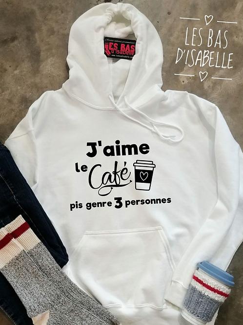 J'AIME LE CAFÉ PIS GENRE 3 PERSONNES