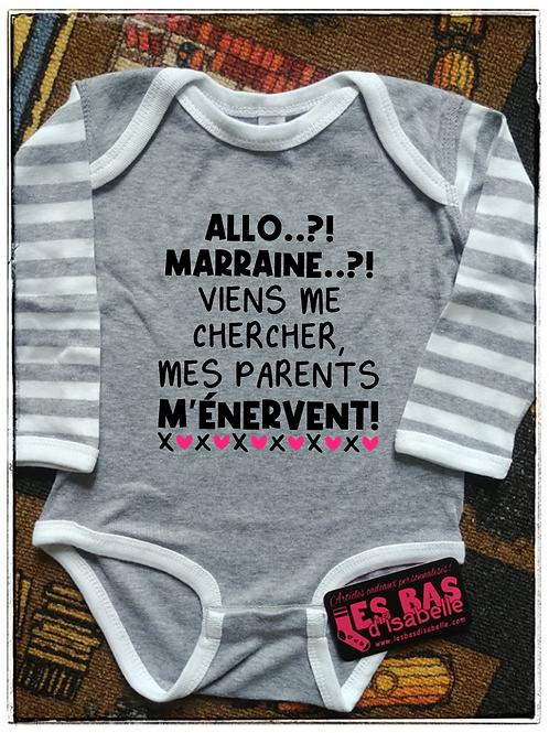ALLO MARRAINE?! MES PARENTS M'ÉNERVENT