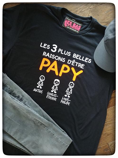 LES 3 PLUS BELLES RAISONS D'ÊTRE PAPY