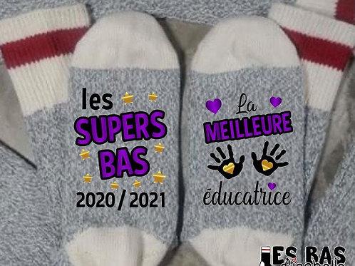 LES SUPERS BAS LA MEILLEURE ÉDUCATRICE