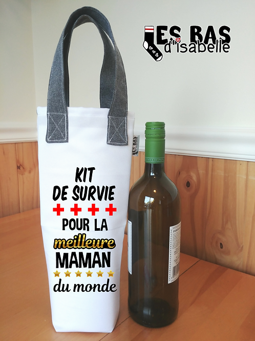 KIT DE SURVIE POUR LA MEILLEURE MAMAN DU MONDE