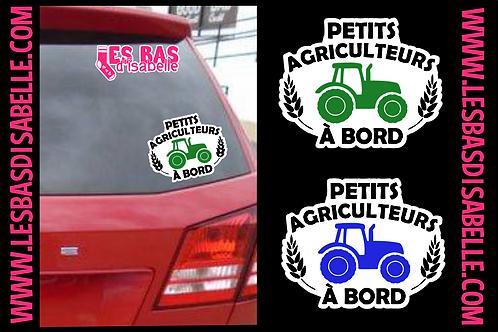 PETITS AGRICULTEURS  À BORD