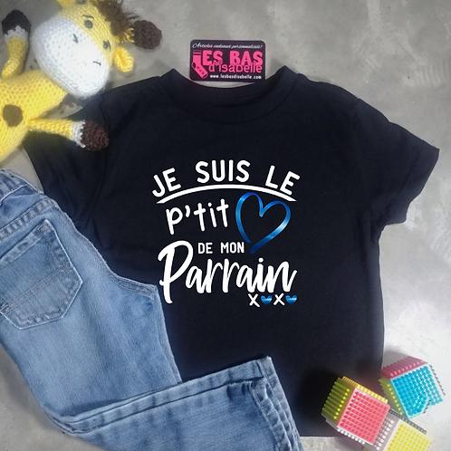 JE SUIS LE P'TIT COEUR DE MON PARRAIN