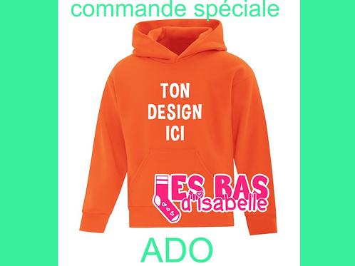 COMMANDE SPÉCIALE ADO 55$