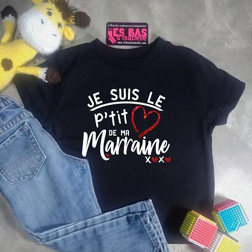 JE SUIS LE PTIT COEUR DE MA MARRAINE