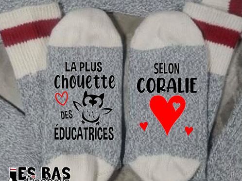 LA PLUS CHOUETTE DES ÉDUCATRICES SELON...