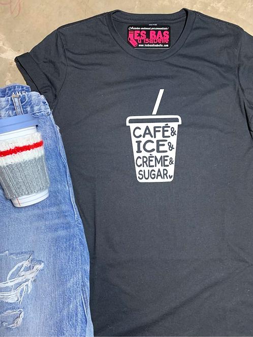 CAFÉ & ICE & CRÈME & SUGAR