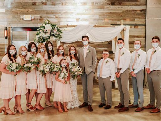 A COVID Kind Of Wedding!