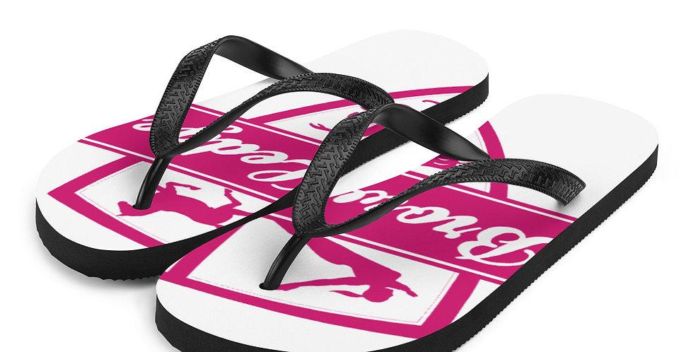 Brown Ledge Crest Flip-Flops