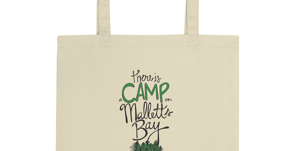 There is a Camp Tote Bag