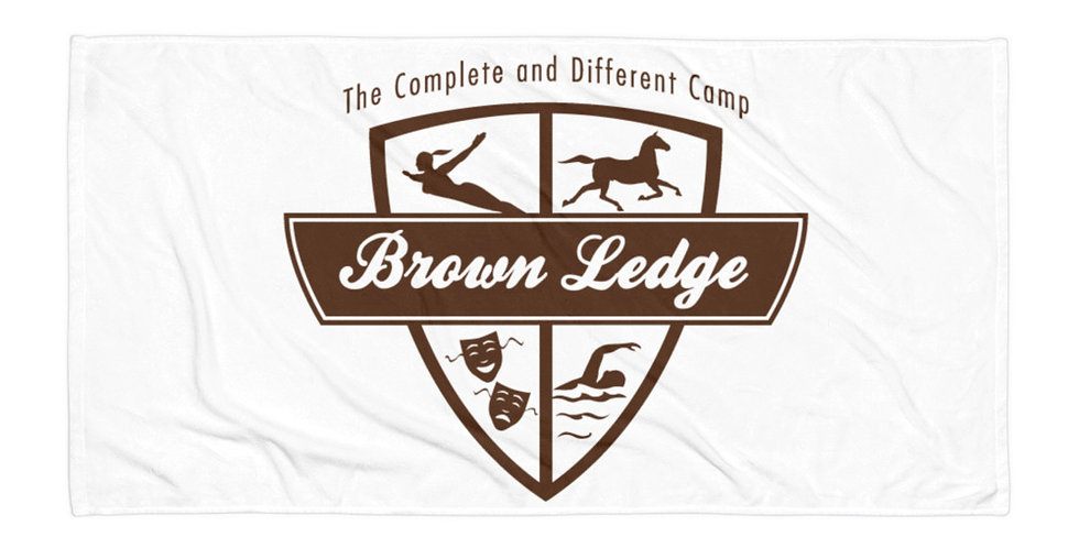 Brown Ledge Brown Crest Towel