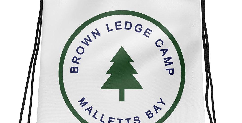 Brown Ledge Basic Drawstring Bag
