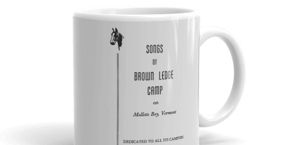 Brown Ledge Songbook Mug
