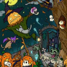 Boo! Halloween Kitties