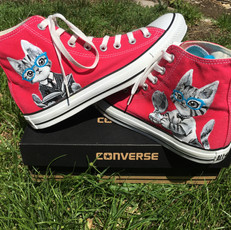 Science Kitty Shoes