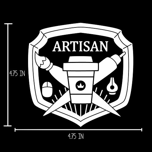 Artisan Vinyl Decal Sticker
