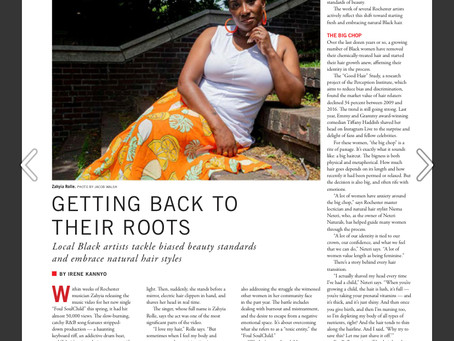 Placement: Local Black Artists Tackle Beauty Standards