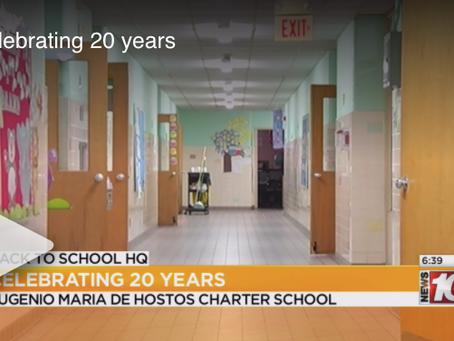 Eugenio Maria de Hostos Charter School celebrates 20th year