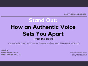 [FREE] Stand Out: How An Authentic Voice Sets You Apart