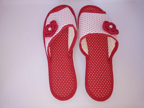 Chinelo Infantil Composê Vermelho