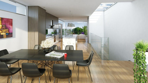 Interior Rendering - House