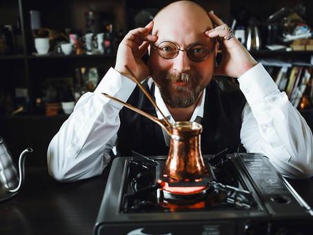 17 декабря, воскресенье, 12.30 | Мастер-класс от чемпиона России по приготовлению кофе в турке