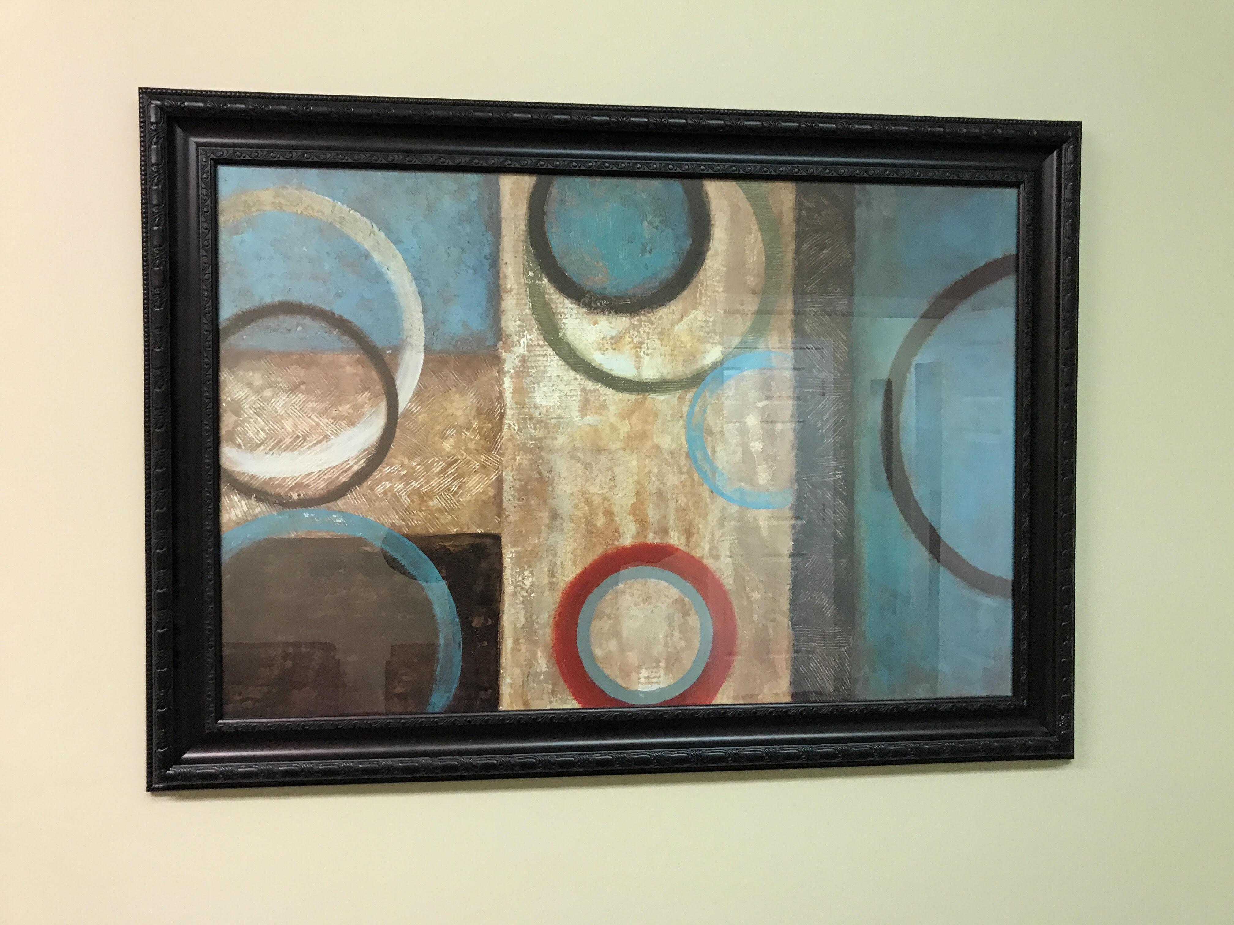 framed wall art