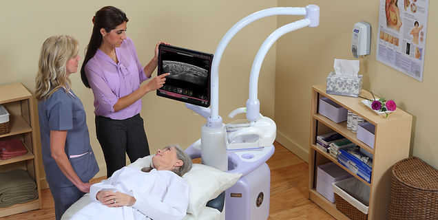 NJ only free standing facility with all new Automated 3D Breast Ultrasound (ABUS)