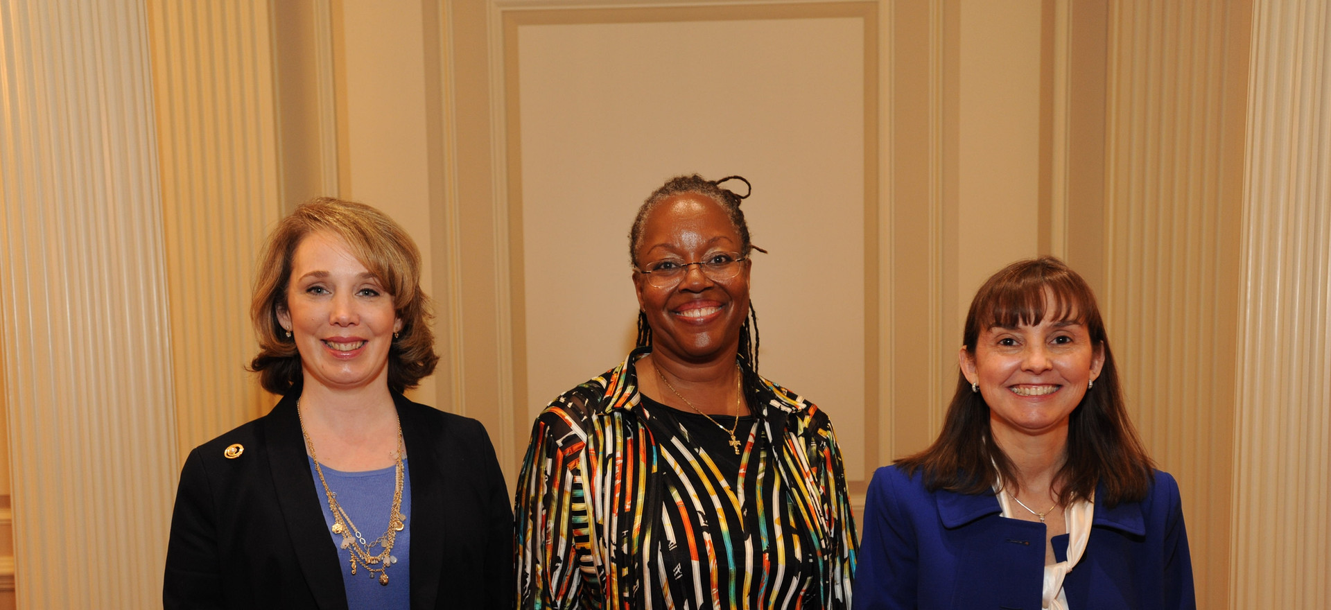 Invited speakers, Dr Kim Choma, Dr Liana R Clarke and Dr Diane McGrory