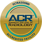 Women's Healthcare Imaging of Union, NJ  is an accredited ACR facility for Ultrasound.