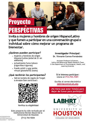Proyecto Perspectivas flyer QR-approved