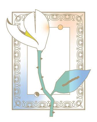 Medieval Flower 1