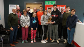 Scarborough Swimming Club End of Year Trophy Presentation