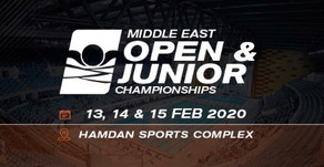 Middle East Open & Junior Championship 2020