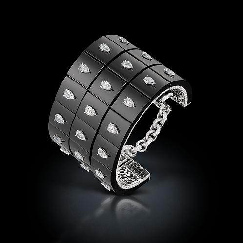Bracelet Allegra sur cuir