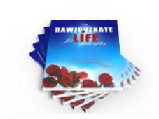 Cover of Rawjuvenate for Life Principles by Katya