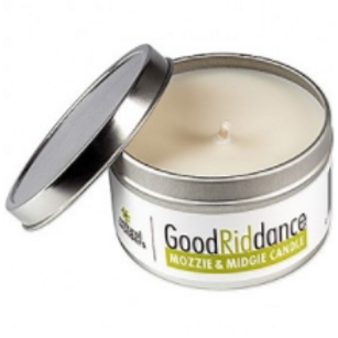 Good Riddance Mozzie Midgie Soy Candle 225g tin