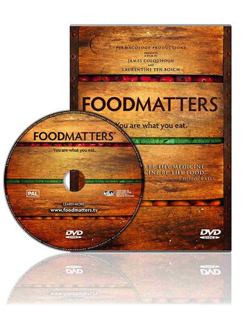 DVD cover Food Matters You are what you eat