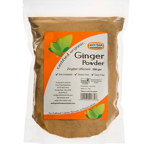 Organic Ginger Powder 80 g Pure Food Essentials