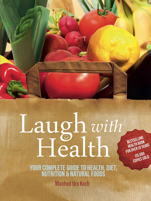 Book cover Laugh with Health by Manfred Urs Koch