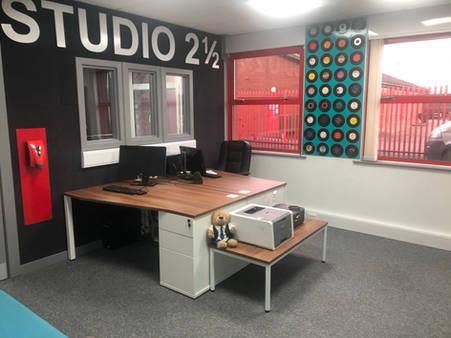 107.4FM Studio